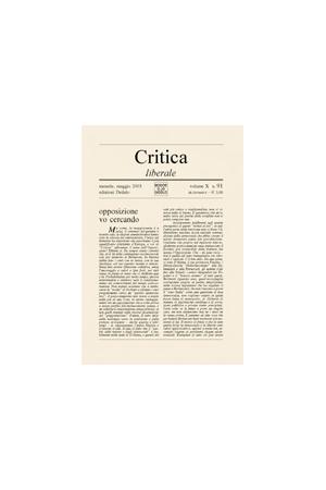 Critica Liberale 91/2003