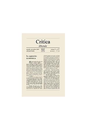 Critica Liberale 97/2003