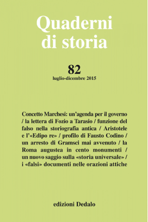 Quaderni di storia 82/2015