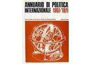 ISPI - Annuario di politica internazionale 1967/1971