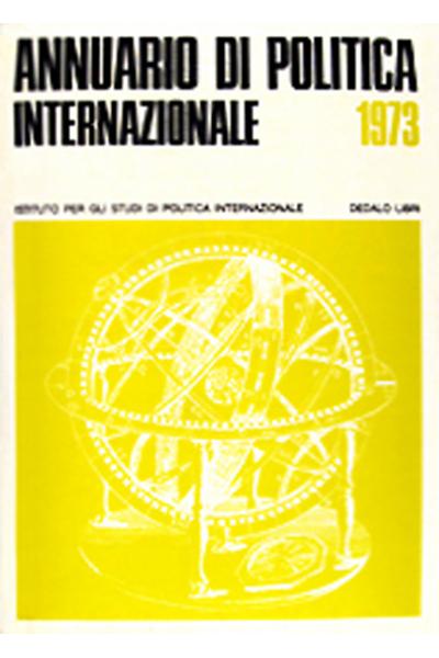 ISPI - Annuario di politica internazionale 1973