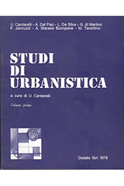 Studi di urbanistica - vol. I