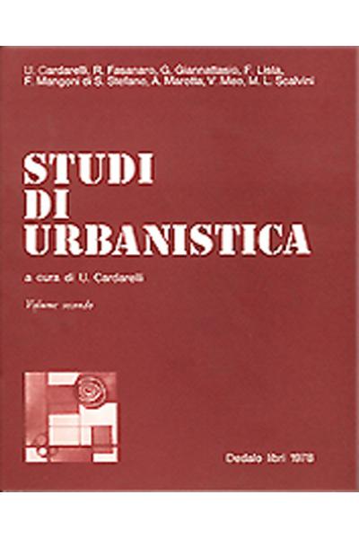 Studi di urbanistica - vol. II