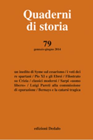 Quaderni di storia 79/2014