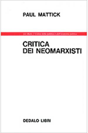 Critica dei neomarxisti