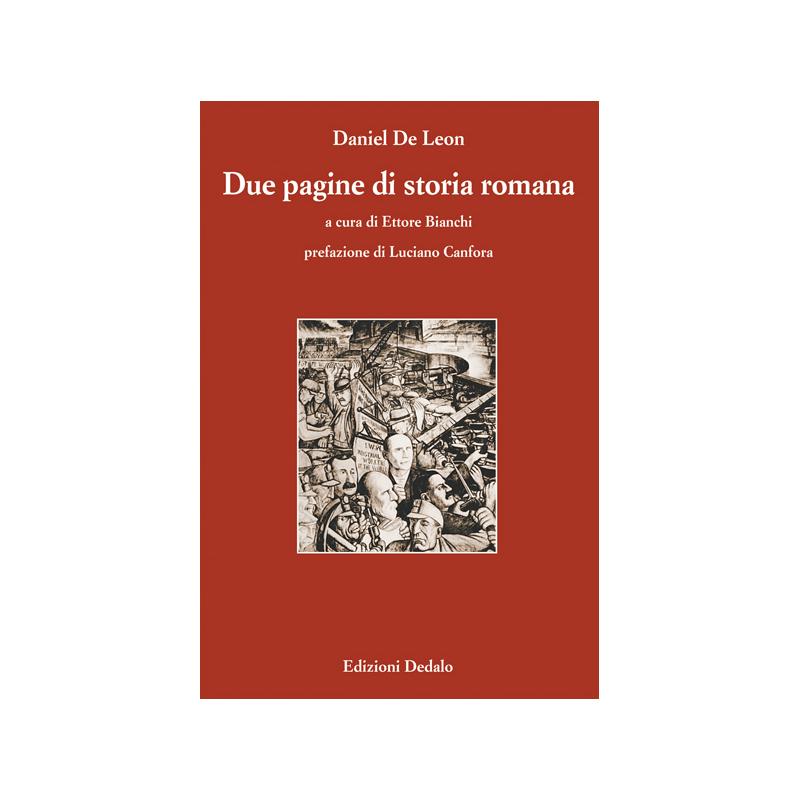 Due pagine di storia romana edizioni dedalo for Due case di mattoni storia