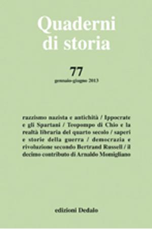 Quaderni di storia 77/2013 PDF