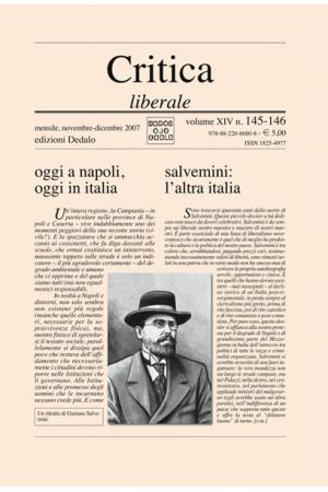 Critica Liberale 145-6/2007