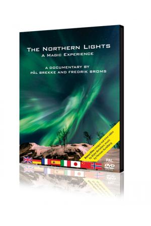 DVD Le aurore boreali: la magia della luce dà spettacolo