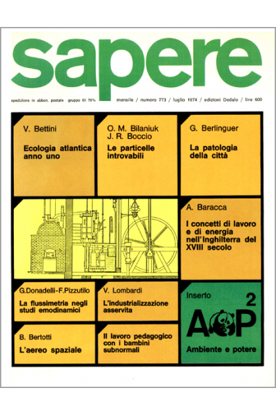 Sapere 773/1974