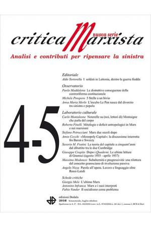 Critica Marxista 4-5/2016