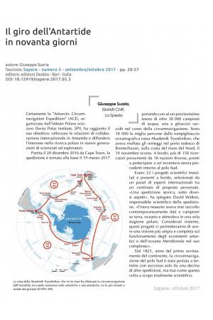 Il giro dell'Antartide in novanta giorni