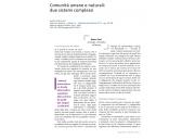 Comunità umane e naturali: due sistemi complessi