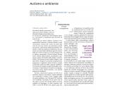 Autismo e ambiente