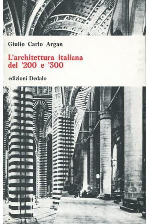 L'architettura italiana del '200 e '300