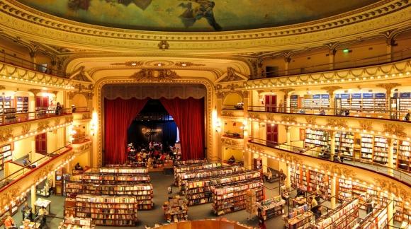 """El Ateneo: una libreria """"teatrale"""""""