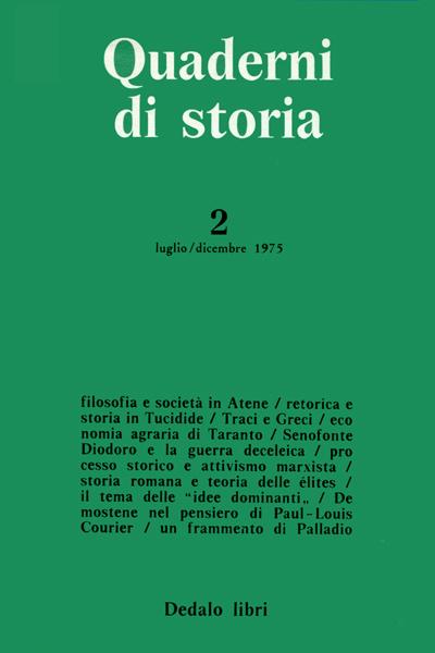 Quaderni di storia 2/1975