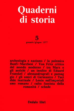 Quaderni di storia 5/1977