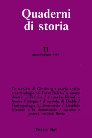 Quaderni di storia 11/1980