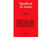 Quaderni di storia 13/1981