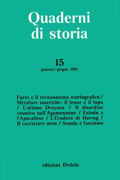 Quaderni di storia 15/1982