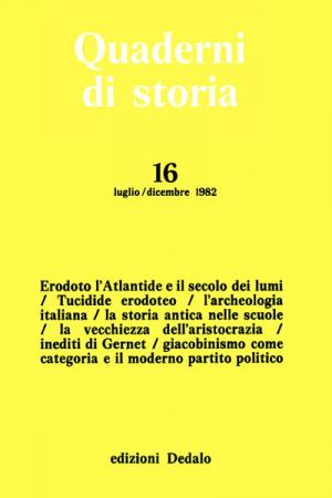 Quaderni di storia 16/1982