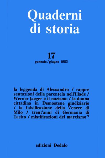 Quaderni di storia 17/1983