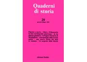 Quaderni di storia 29/1989