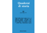 Quaderni di storia 33/1991