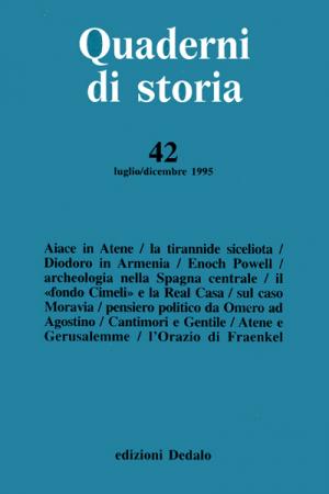 Quaderni di storia 42/1995