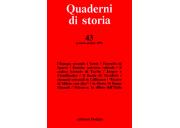 Quaderni di storia 43/1996