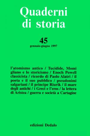 Quaderni di storia 45/1997