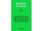 Quaderni di storia 51/2000