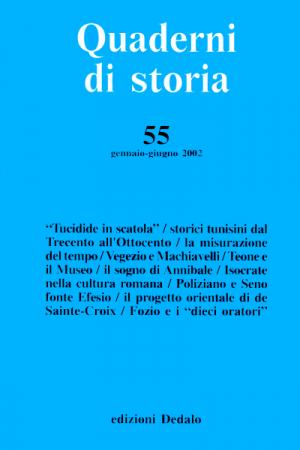 Quaderni di storia 55/2002