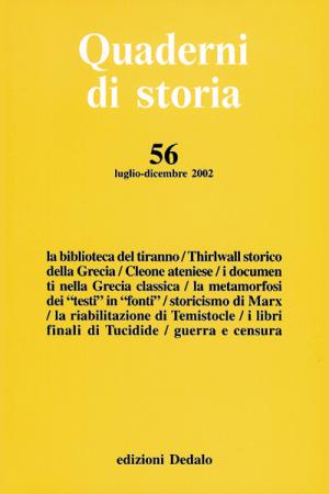 Quaderni di storia 56/2002