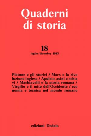Quaderni di storia 18/1983