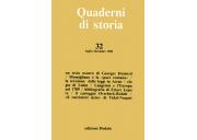 Quaderni di storia 32/1990