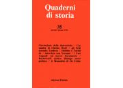 Quaderni di storia 35/1992