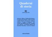 Quaderni di storia 81/2015