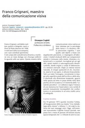 Franco Grignani, maestro della comunicazione visiva