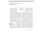 Fisica e filosofia delle catastrofi: l'effetto Seneca