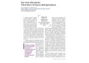 Dar voce alle piante: il bioristor e il futuro dell'agricoltura