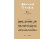 Quaderni di storia 93/2021