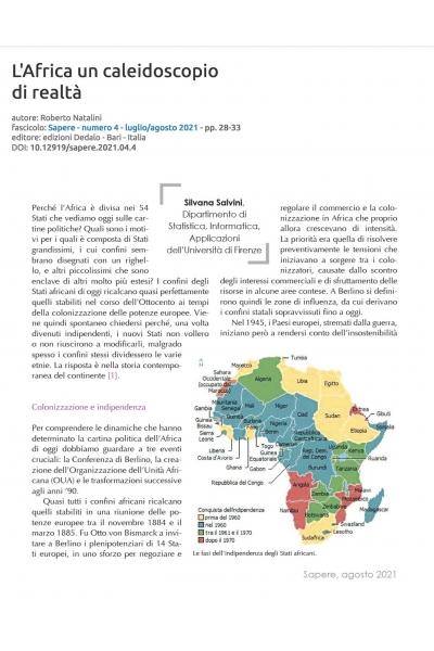 L'Africa, un caleidoscopio di realtà
