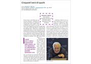 Cinquant'anni di quark