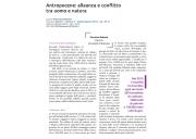 Antropocene: alleanza e conflitto tra uomo e natura