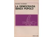 La democrazia senza popolo