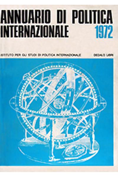 ISPI - Annuario di politica internazionale 1972