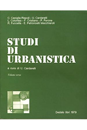 Studi di urbanistica - vol. III