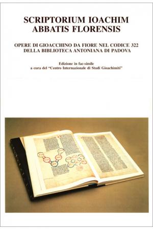 Opere di Gioacchino da Fiore nel Codice 322 della Biblioteca Antoniana di Padova